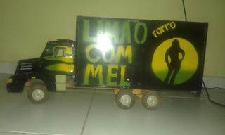 Caminhão Miniatura Preto
