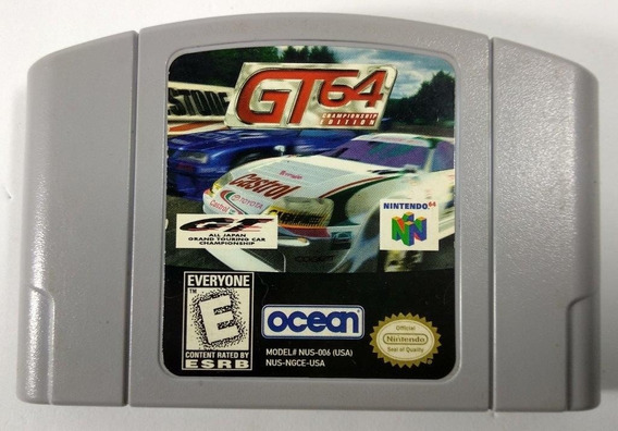Gt 64 Championship Edition Original - N64