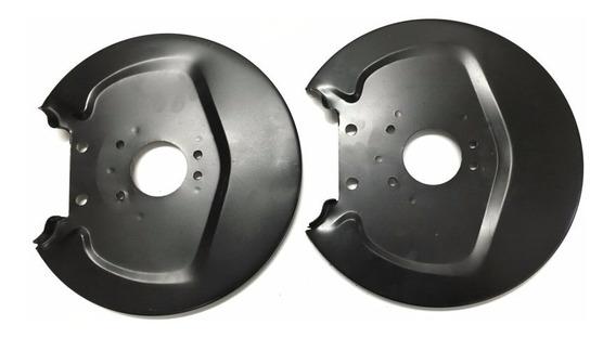 2 Espelhos Defletor Do Tambor Disco Da Roda Fusca