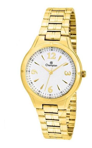 Relógio Champion Dourado Analógico - Cn20499h - Cor Dourado