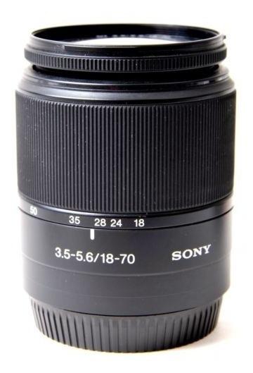 Lente Sony Af Dt 18-70mm F 3,5/5,6 Macro 0,38m/1.3ft
