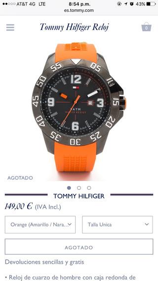 Reloj Tommy Hilfiger Original A Un Súper Precio!!