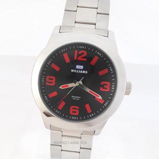 Reloj Williams Wih0021 Acero Inoxidable Cristal Duro Envio Gratis Watch Fan Locales Palermo Y Saavedra
