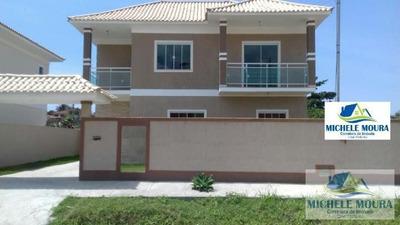 Casa Duplex Para Venda Em Araruama, Pontinha - 155