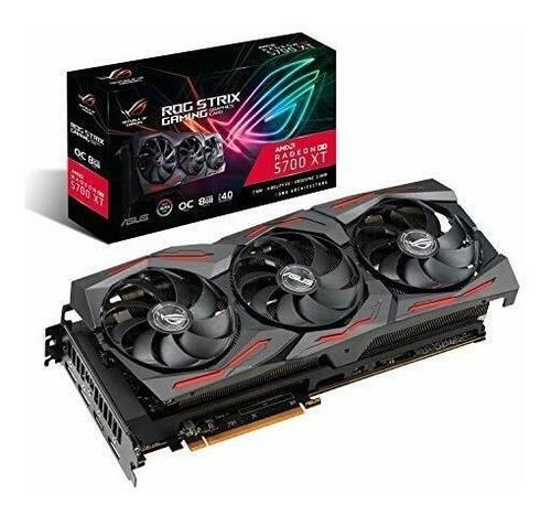 Asus Amd Radeon Rx 5700 Xt Triple-fan 8g Rog-strix-rx5700xt