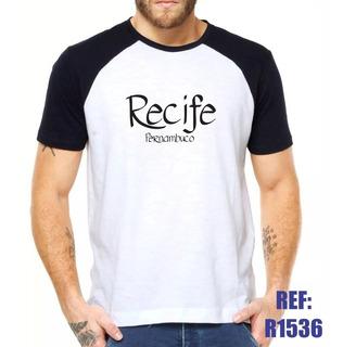Camisa Raglan Recife Pernambuco