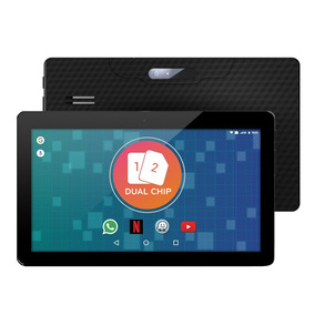 Tablet 3g 2 Chip Dual Sim How Wifi Gps 1001g 10 Polegadas