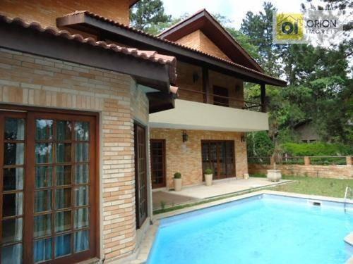 Casa Residencial Para Locação, Morada Dos Pássaros (aldeia Da Serra), Santana De Parnaíba. - Ca0807