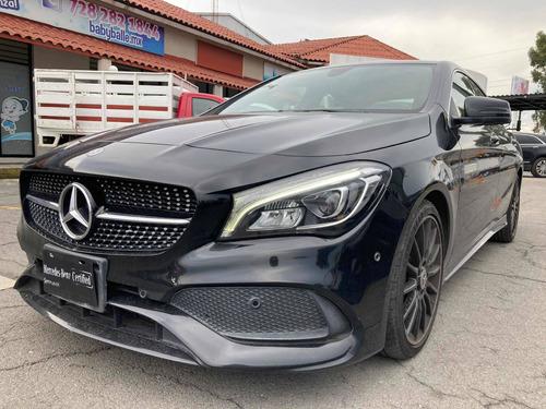 Imagen 1 de 15 de Excelente Mercedes Benz Cla 250 Sport 2018 Negro