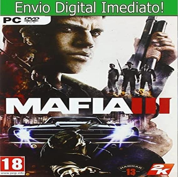 Mafia 3 Pc Hd Envio Imediato.
