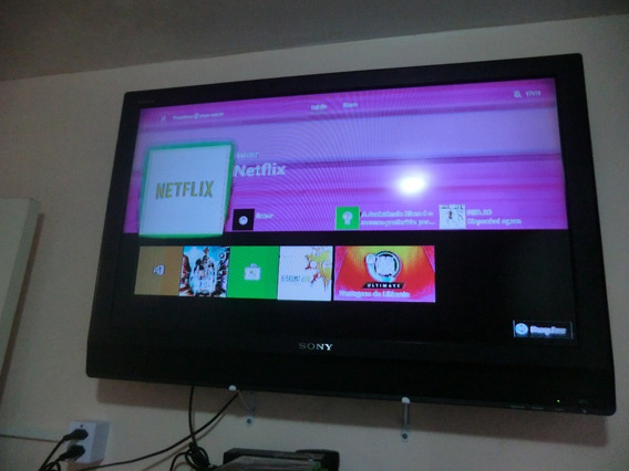 Tv Sony Bravia Lcd 40 Pol (no Estado)