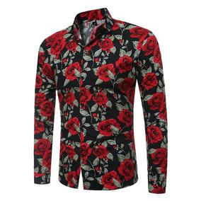 7088f3f848 Camisa Flor Hombre - Camisas de Hombre en Mercado Libre Chile