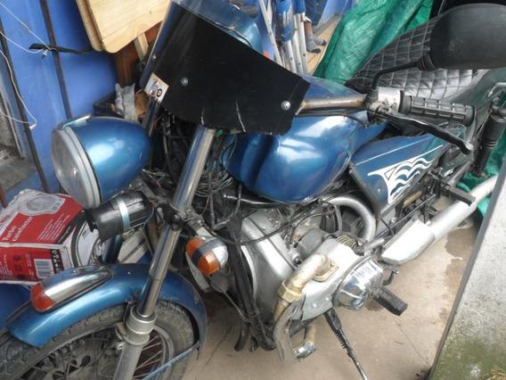 Vendo Moto Artesanal Motor De Citroen