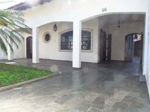 Maravilhosa Casa 5 Dormitórios Próxima Ao Centro De Itanhaem