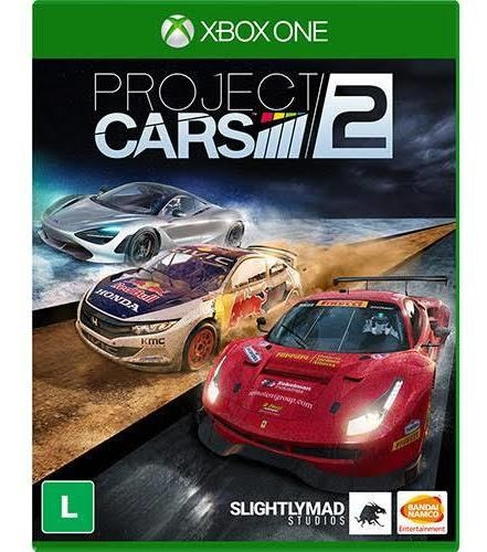 Project Cars 2 Xbox One Midia Física Novo Lacrado