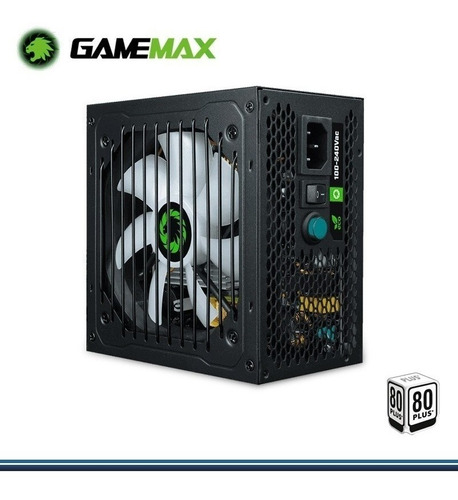 Fuente De Poder Gamer Game-max 650w 24p-8pin 1.5m 80 Plus