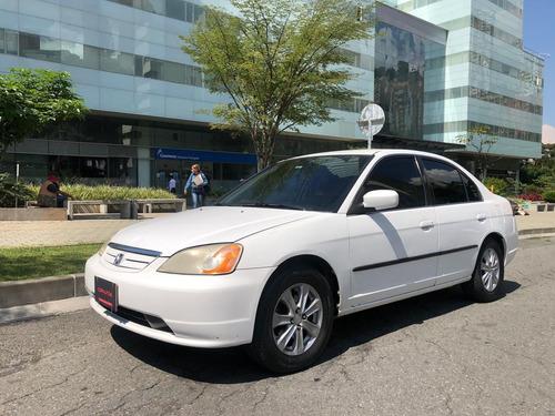 Honda Civic 1.7 Lx  Siniestro