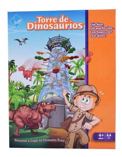 Juego De Mesa Torre De Dinosaurios El Duende Azul 7502