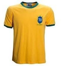 Camisa Brasil 70 Retrô