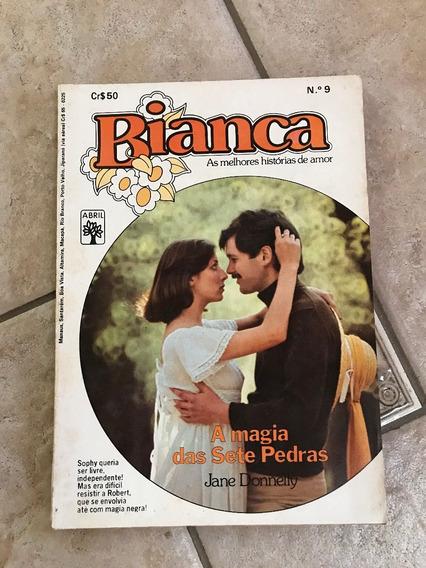 Livro De Romance Bianca Número 9 A Magia Das Sete Pedras