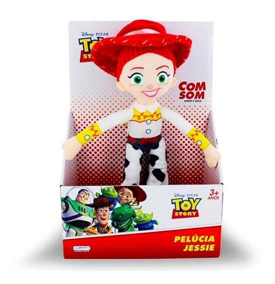 Toy Story - Pelúcia 30 Cm Jessie Com Som - Multikids