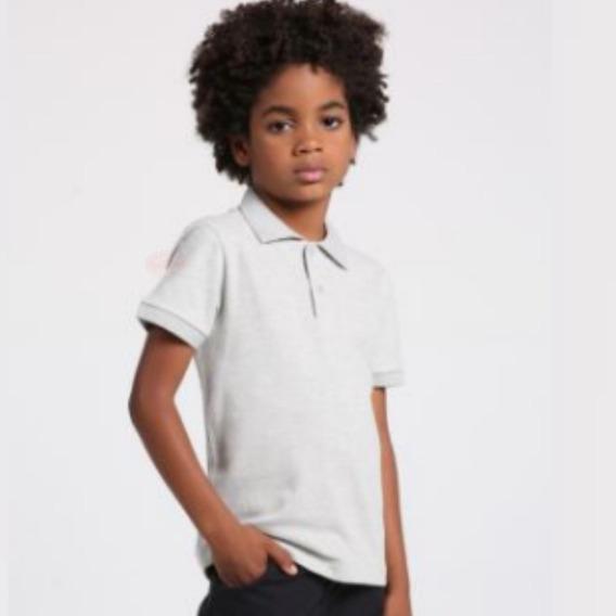 8 Camisas Camiseta Polo Infantil Blusas Kids Criança Menino