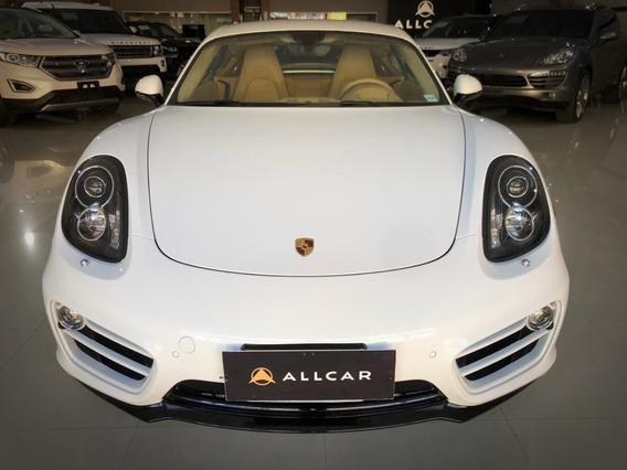 Porsche Cayman 2.7. Branco 2013/14