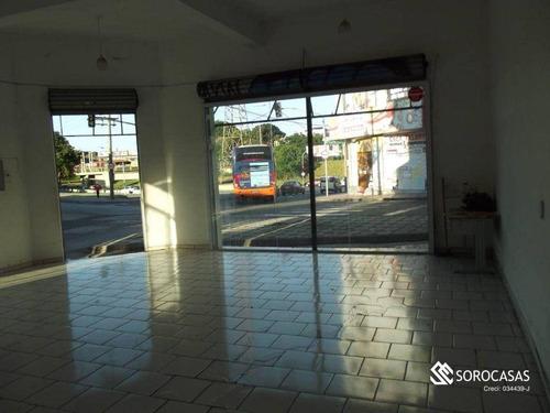 Imagem 1 de 4 de Salão Para Alugar, 115 M² Por R$ 4.600,00/mês - Centro - Sorocaba/sp - Sl0040