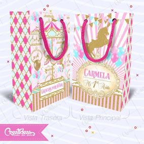 27cc41ac1 Bolsita Cumple Unicornio - Souvenirs para Cumpleaños Infantiles ...