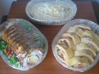 Vitel, Matambre, Pollo, Rusa, Cena Navidad, Felices Fiestas