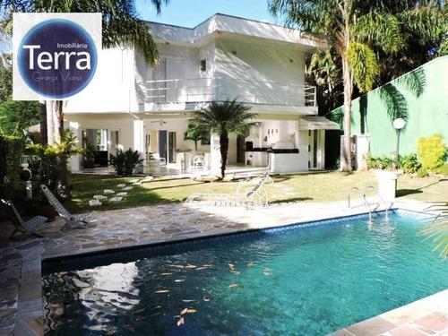 Imagem 1 de 30 de Casa Com 4 Dormitórios À Venda, - Reserva Uruana - Granja Viana - Ca0490