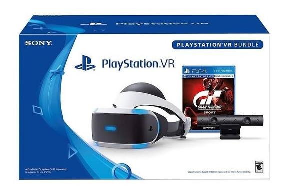 Playstation Vr - Gran Turismo Sport Bundle Pronta Entrega
