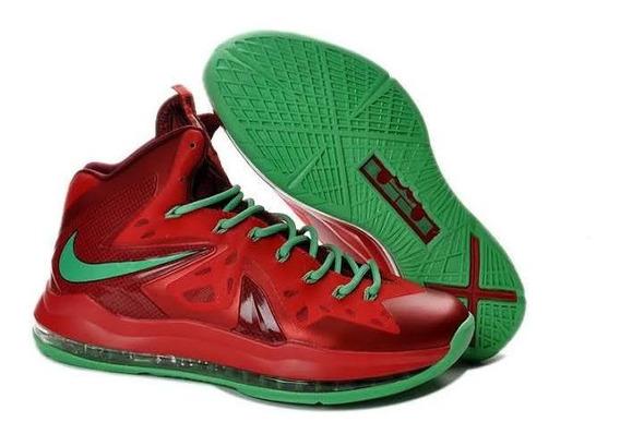 Tênis De Basquete Nike Air Max Lebron James X10