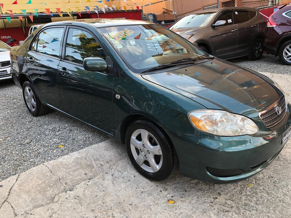 Toyota Corolla 2006 Le Americano Sano Cero Detalles