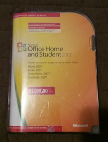 Microsoft Office 2007 Home And Student Original Chave