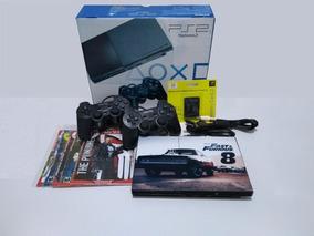 Playstation 2 Slim Desbloqueado Matrix Completo