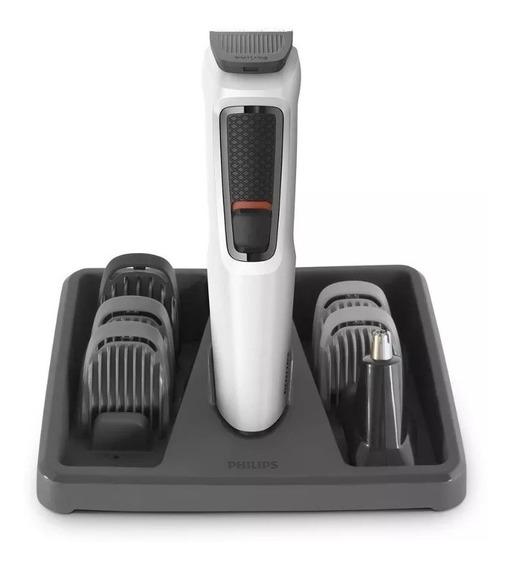 Aparador De Pelos Cabelo/barba Cabeleireiro Philips Mg3721/7
