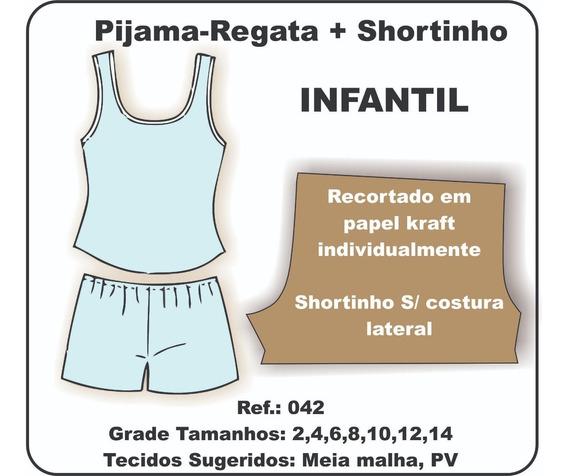 Moldes De Pijamas Infantil Outros Com O Melhores Precos No