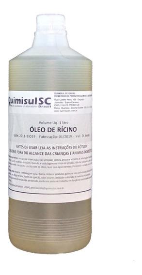Óleo De Rícino Puro E Natural 1 Litro (campeão Vendas !!!!)