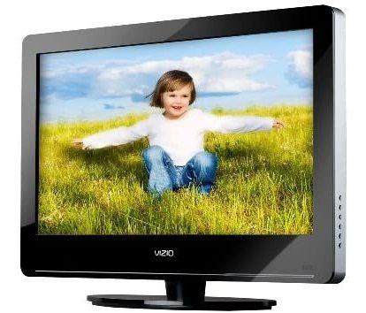 Tv Lcd Vizio Hdtv Monitor Va26lhdtv10t Widescreen 50 Vrds