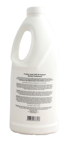 Creme Protetor Solar Fps30 Uva 2l Qualidade Nutriex