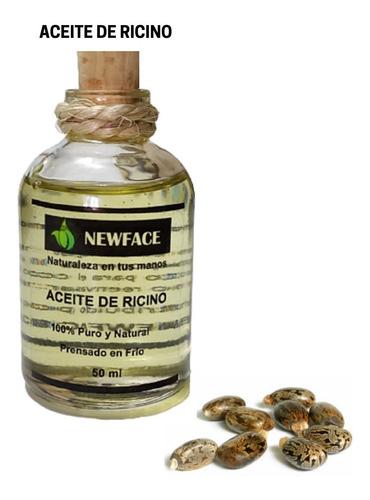 Aceite De Ricino Puro-nat X50ml - Unidad a $13800