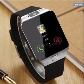 Relógio Celular Smartwatch Dz09 Chip + 1 Mini Fone Bluetooth