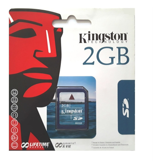 Cartão De Memória Sd Secure Digital 2gb / Nikon D50 / R022 K