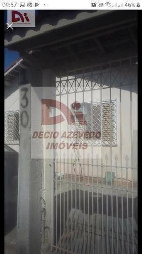 Casa Com 3 Dormitórios À Venda Por R$ 350.000,00 - Parque Senhor Do Bonfim - Taubaté/sp - Ca0057