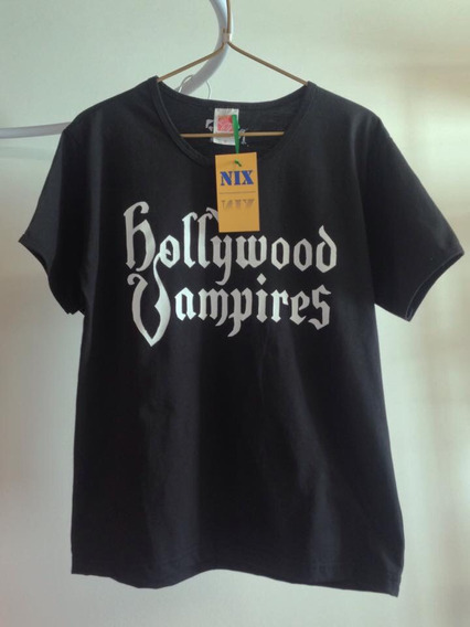 Camiseta / Baby Look Banda Hollywood Vampires