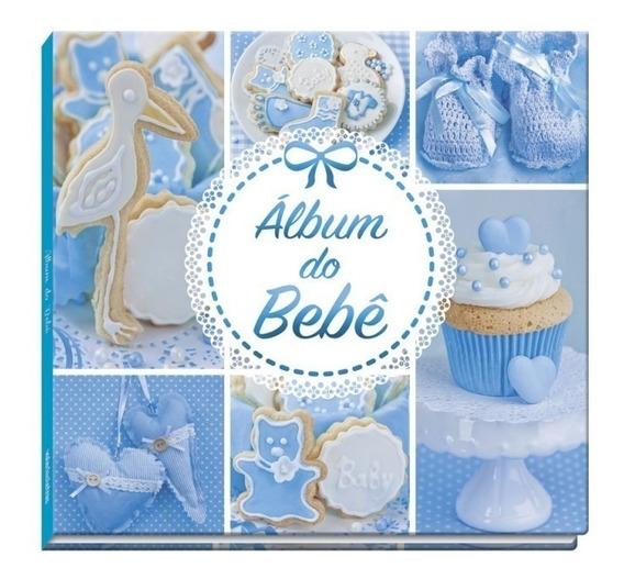 Álbum Do Bebê - Vale Das Letras (azul)