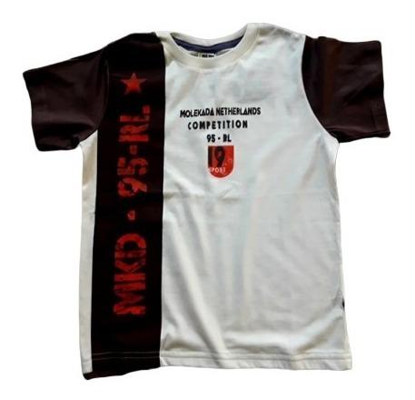 Camiseta Infantil Tam. 1 2 3 Anos Menino Modinha
