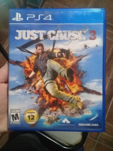Just Cause 3 Para Play 4 Fisico, Impecable!