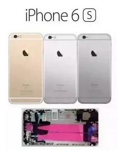 Carcaça Completa Chassi Tampa iPhone 6s Plus + Flex